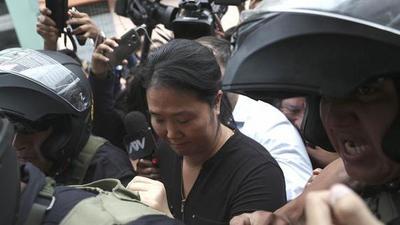 Perú: Keiko Fujimori vuelve a prisión por 15 meses debido a peligro de fuga