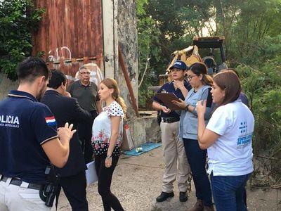 Allanan depósito de ex Cervecería Paraguaya tras hallazgo de niña