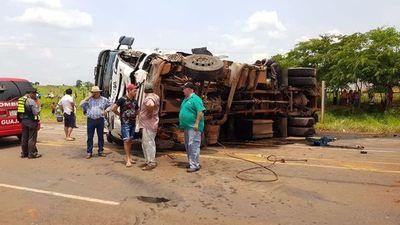 Accidente de tránsito deja cuatro muertos