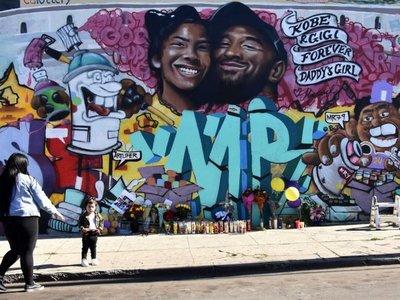 En mural velan a Kobe