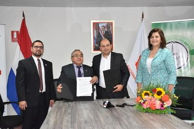 INC firma convenio con la UNC