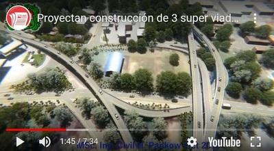 Resucitan proyecto circunvalación y súper viaductos para San Lorenzo