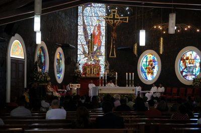 Se inició el novenario a San Blas con el rezo del Ángelus