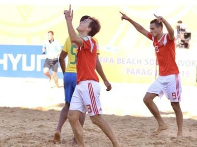 Beach Soccer World Cup 2019: apuntando a semifinales