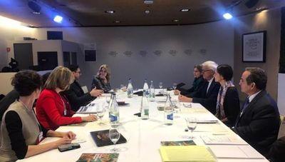 Foro de Davos: La gran preocupación del sector empresarial mundial ahora es el cambio climático, según Martín Burt