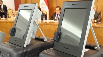 Destraban proceso licitatorio de urnas electrónicas