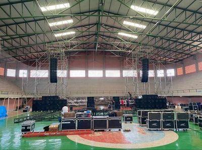 Mega concierto por aniversario de CDE será en el Polideportivo Municipal