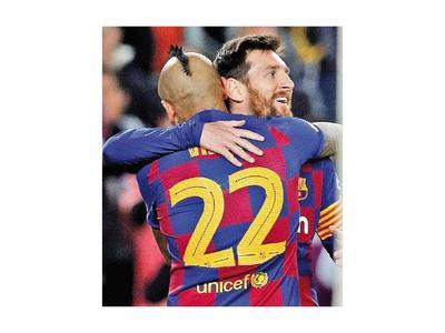 Las 500 de Messi en Barcelona