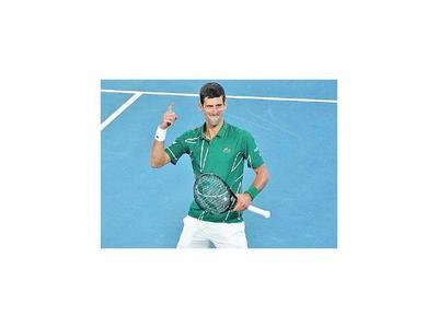 Djokovic, finalista en Australia