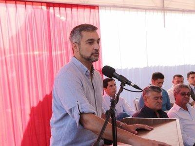 Mario Abdo pide unidad para evitar politiquería y peleas estériles