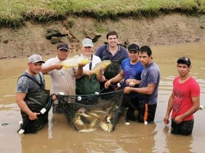 EBY fomenta la piscicultura desde la estación de San Cosme y Damián