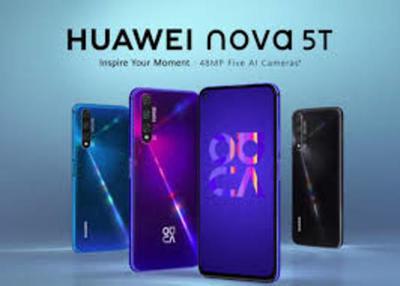 Huawei presenta el nuevo smartphone NOVA 5T