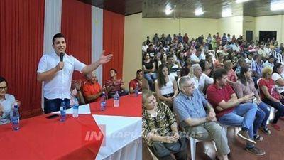 PABLO VELÁZQUEZ OFICIALIZA PRECANDIDATURA A LA INTENDENCIA DE CNEL. BOGADO