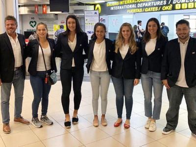 Delegación paraguaya viaja a Santiago para la Fed Cup