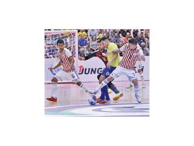 Paraguay cayó ante Brasil