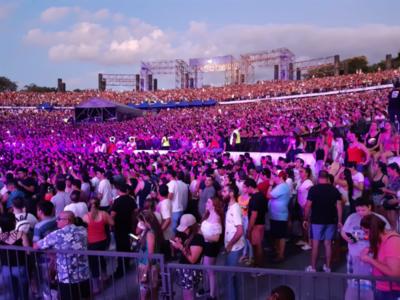 ¡Grandes exponentes de la cumbia hicieron vibrar al Anfiteatro de San Bernardino!