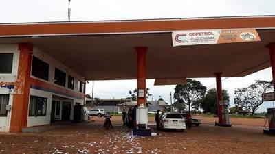 Asaltan Estación de Servicio de Campo 9