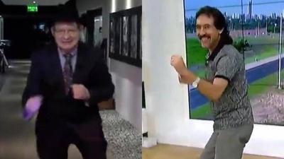 "HOY / ""Cachaca piru mediática"": Carlos Martini vs Michelín Ortiz"