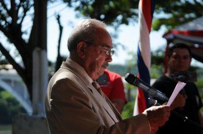 Don Penayo recuerda el día de la fundación de Ciudad del Este