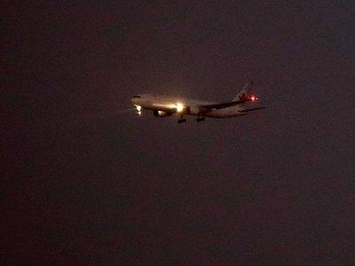 Avión de Air Canadá aterriza en Barajas tras problema técnico