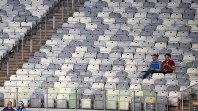 Estadios casi vacíos en la Copa América