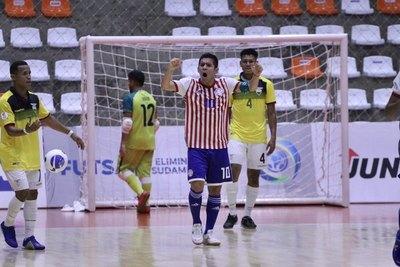 Albirroja futsal vence a Ecuador y mantiene chances mundialistas