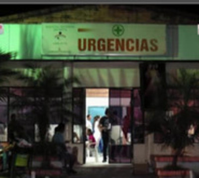 Llamas causan susto en el Hospital Materno infantil de Loma Pyta