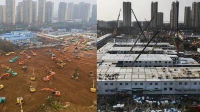 El Hospital de Wuhan construido en 10 días recibió a sus primeros pacientes