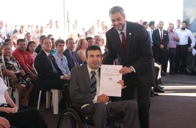 80 funcionarios con discapacidad se incorporan al IPS