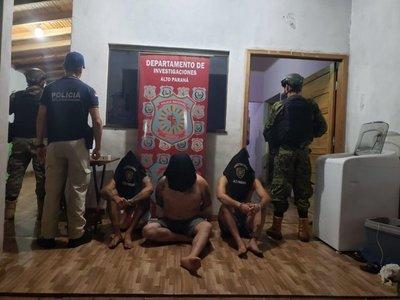 Policía detiene a fugado de cárcel de Brasil en Capitán Bado