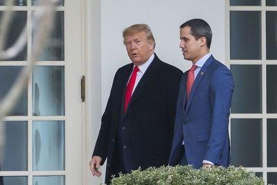 Trump recibe a Guaidó en la Casa Blanca