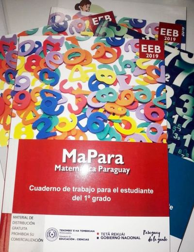 Ministerio de Educación produjo los cuadernillos