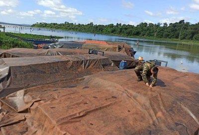 """""""Lo grave de la cuestión es que estaban operando en una franja de seguridad de la Itaipú"""" refieren desde la UIC"""