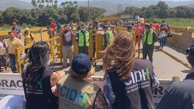 CIDH se entrevistó con venezolanos que padecieron violaciones a los derechos humanos