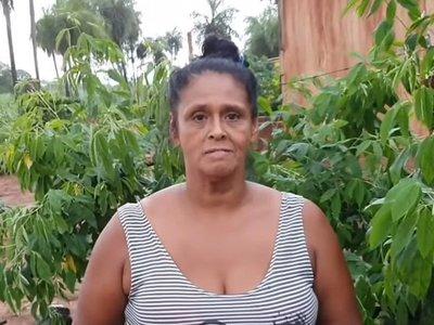 """Ña Morena: """"Quiero construir para mi casa"""""""