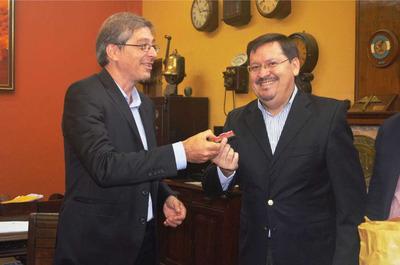 Presentan proyecto de Tren de Carga PJC-Concepción