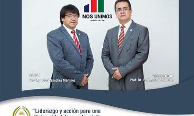 Dupla de candidatos a Rector y Vicerrector de la UNE presentan propuestas