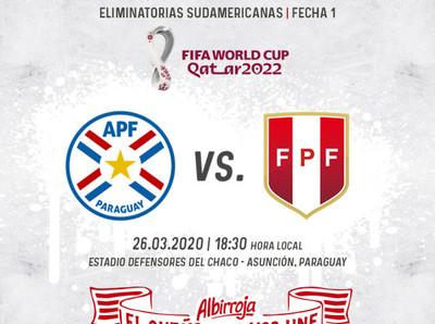 Los detalles de la primera fecha de eliminatorias ante Perú
