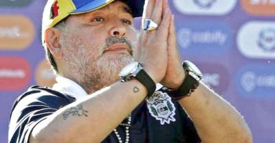 Maradona he'i  que está a  favor del faso