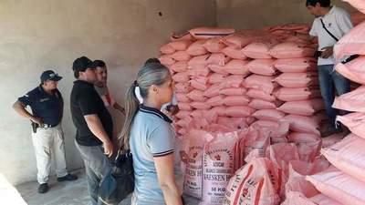 Incautan 18 toneladas de azúcar de contrabando en CDE