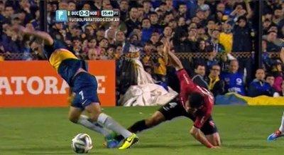 Tremenda lesión de Marcos Cáceres (VIDEO)