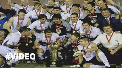 Hace 14 años de la última copa internacional de Olimpia (Vídeo)