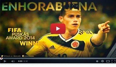 Mira el mejor gol del 2014 (VIDEO)