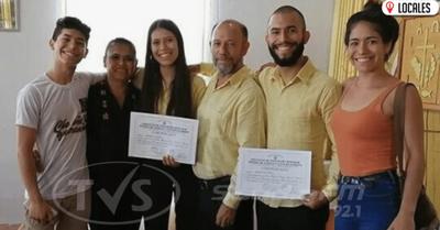 En Encarnación: Pareja optó por nombrar a todos sus hijos en guaraní