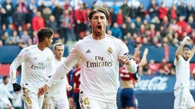 Real Madrid golea a Osasuna y mete presión al Barcelona