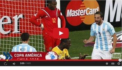 Argentina vs Jamaica (1-0) Goles Resumen Resultado Copa América 2015