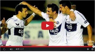 Deportivo Capiata vs Olimpia (0-3) Goles Resumen Resultado Clausura 2014