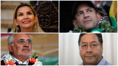 ¿Quiénes son los candidatos en las elecciones generales de Bolivia?