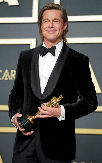 """Brad Pitt gana con """"Once Upon a Time..."""" su primer Óscar como actor"""