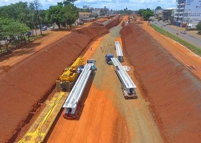 Inician montaje de vigas del Multiviaducto en CDE
